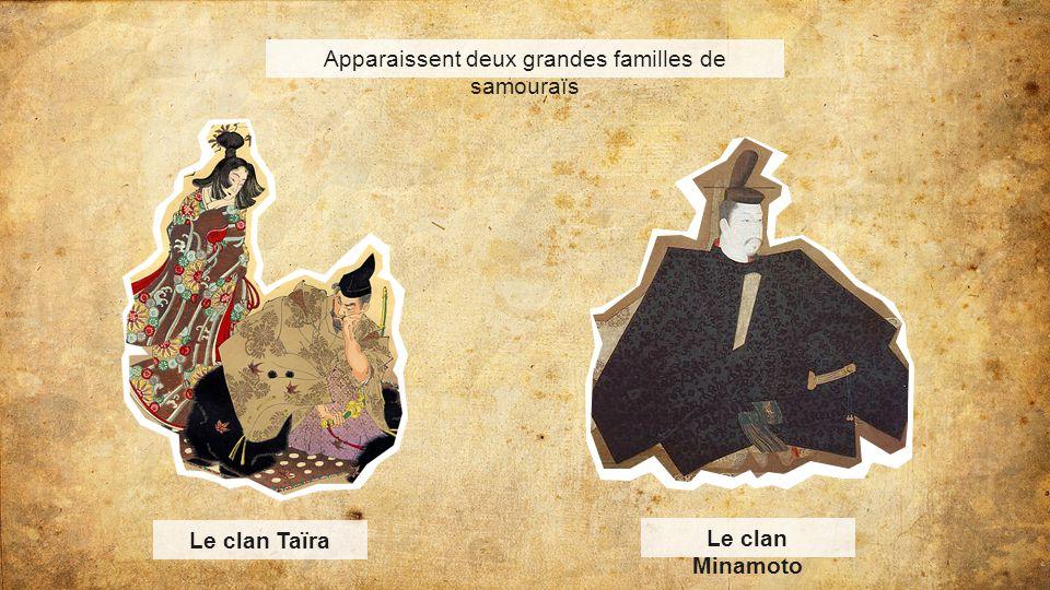 Apparaissent deux grandes familles de samouraïs