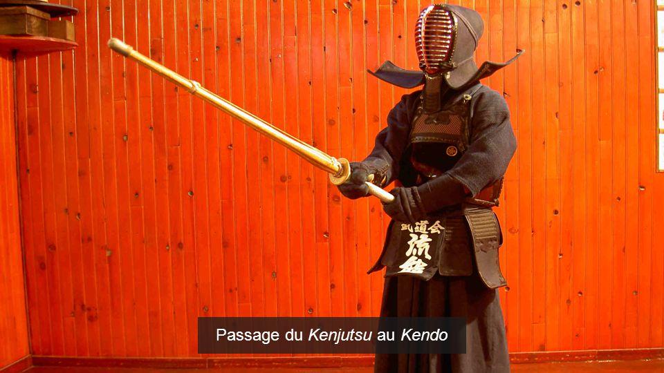 Passage du Kenjutsu au Kendo
