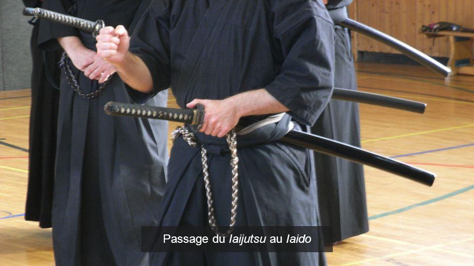 Passage du Iaijutsu au Iaido Passage du Jujutsu au Judo