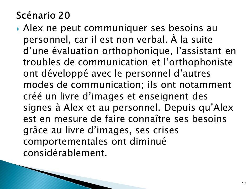 Scénario 20