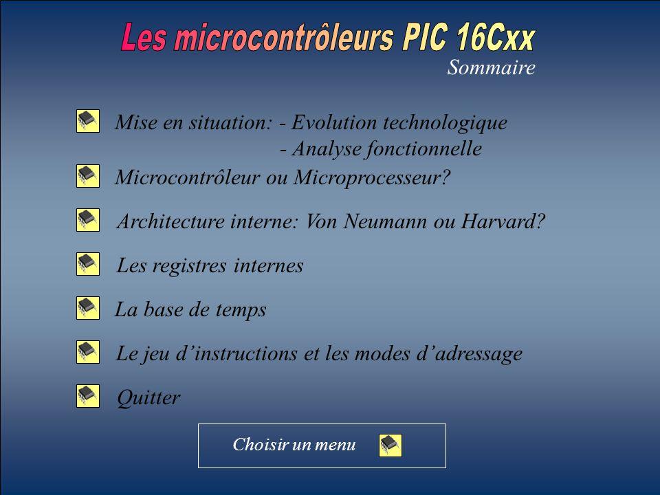 Les microcontrôleurs PIC 16Cxx