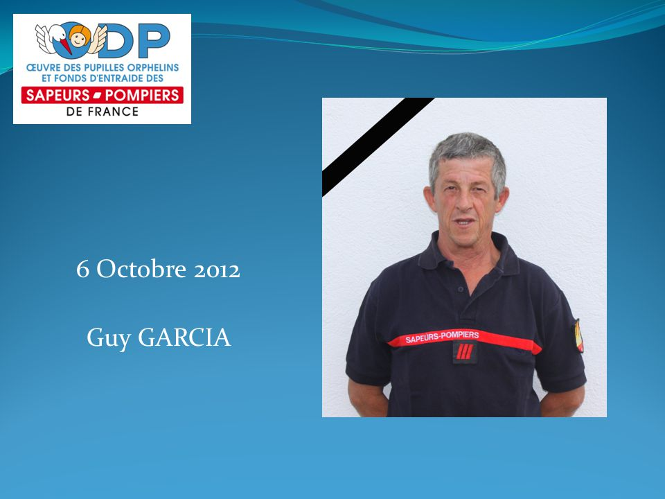 6 Octobre 2012 Guy GARCIA