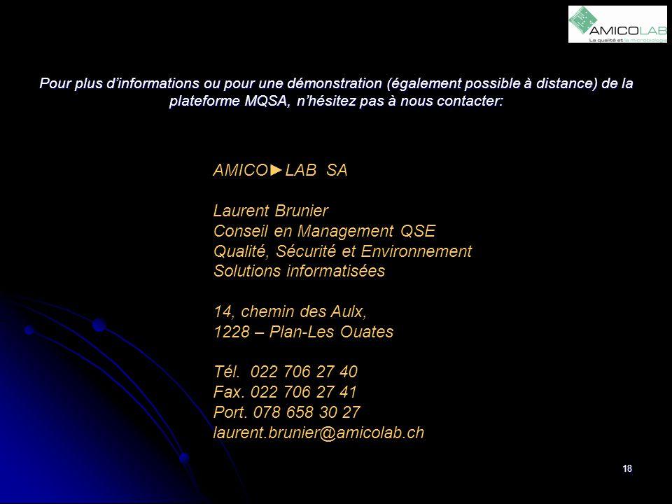 Conseil en Management QSE Qualité, Sécurité et Environnement