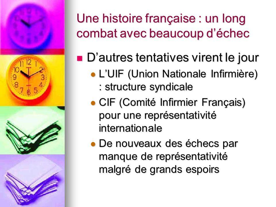 Une histoire française : un long combat avec beaucoup d'échec