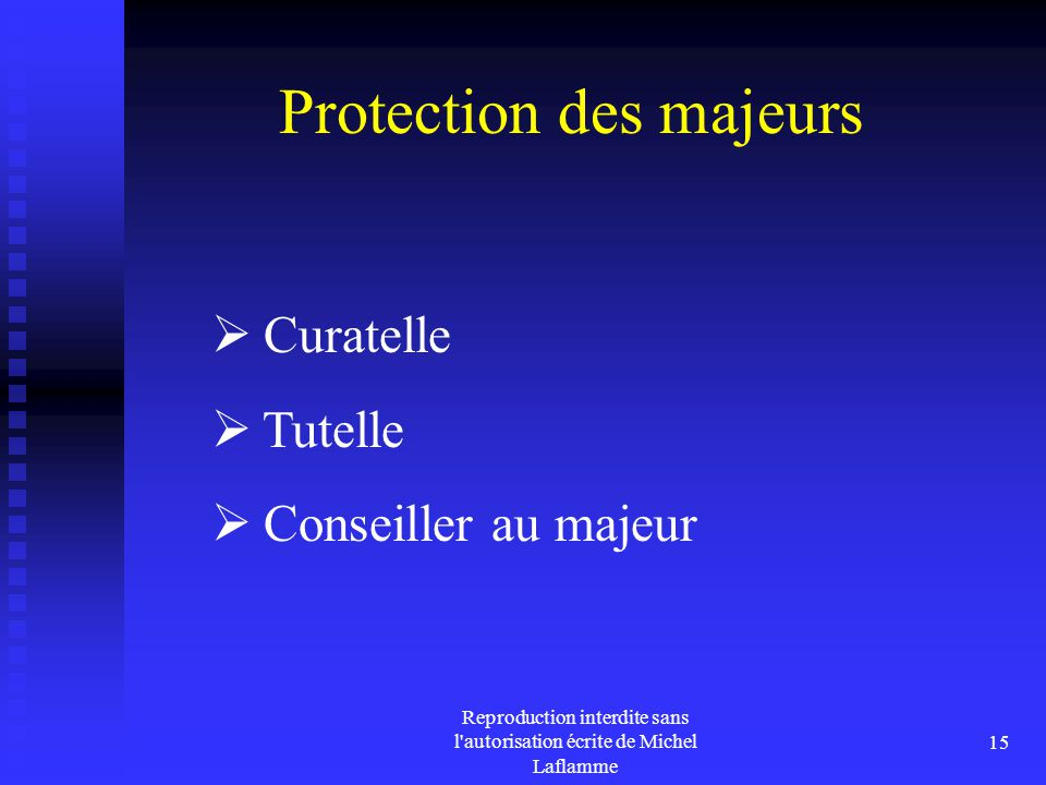 Protection des majeurs