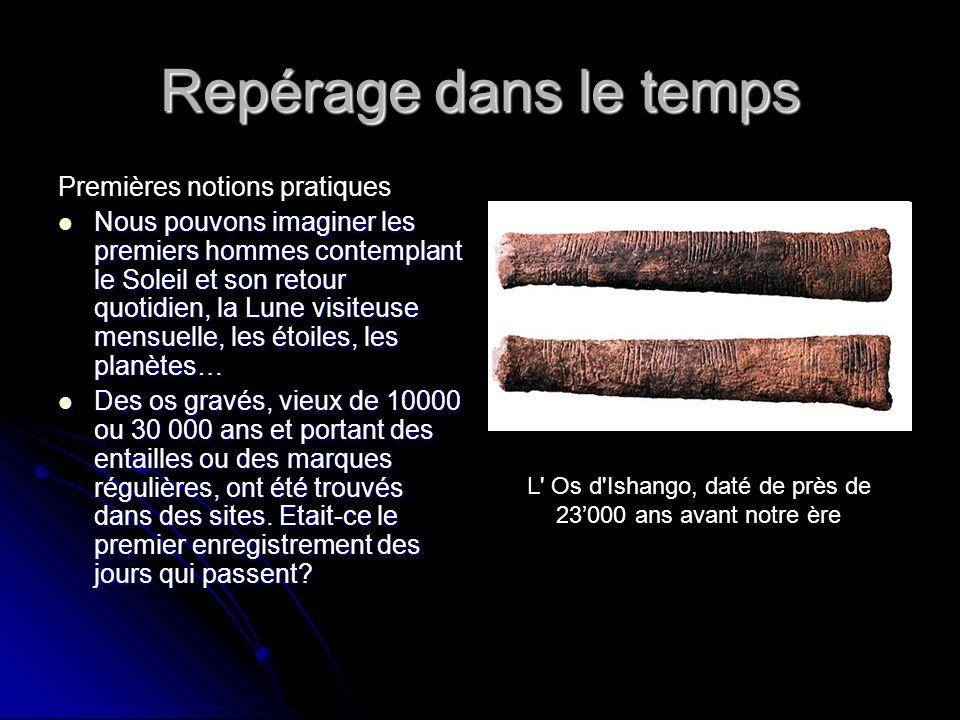 L Os d Ishango, daté de près de 23'000 ans avant notre ère
