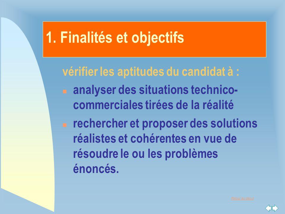 1. Finalités et objectifs