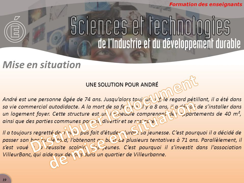 Distribuer le document