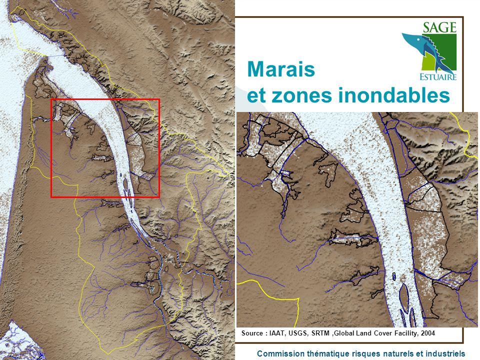 Marais et zones inondables