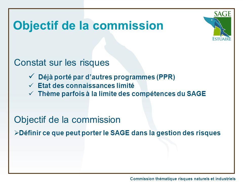 Objectif de la commission