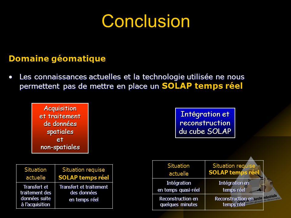 Conclusion Domaine géomatique