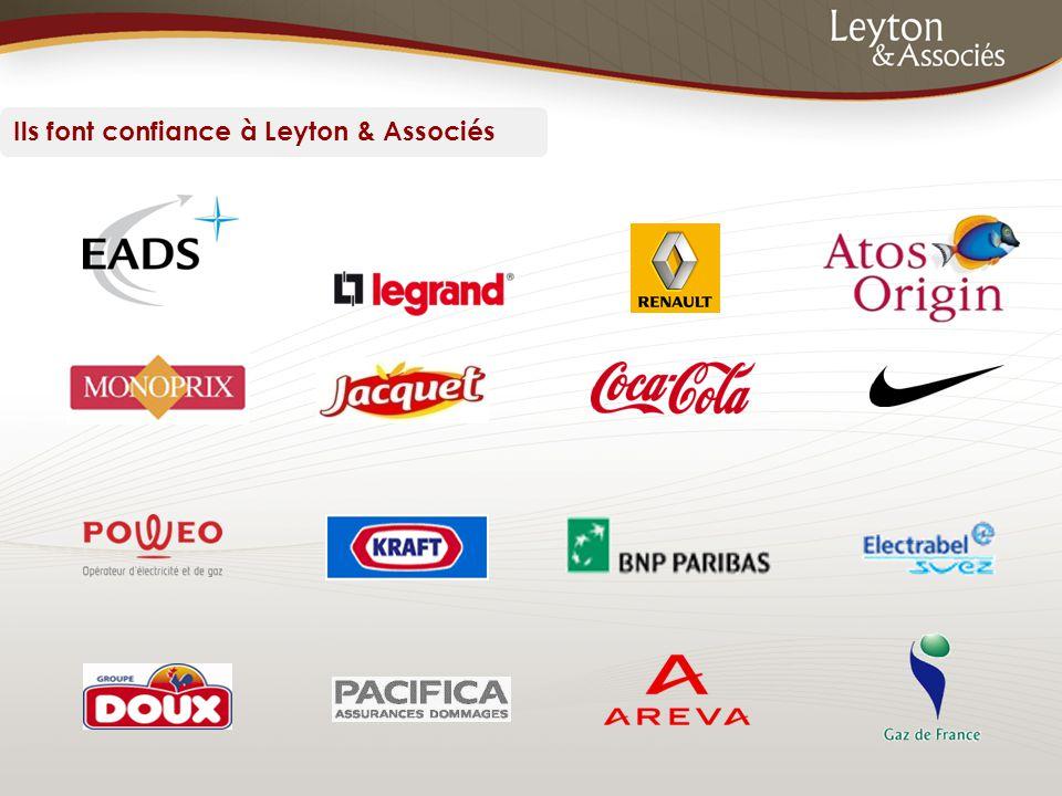 Ils font confiance à Leyton & Associés