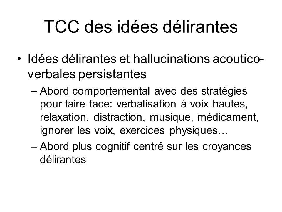 TCC des idées délirantes