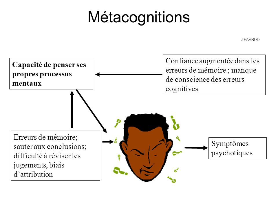 Métacognitions J FAVROD