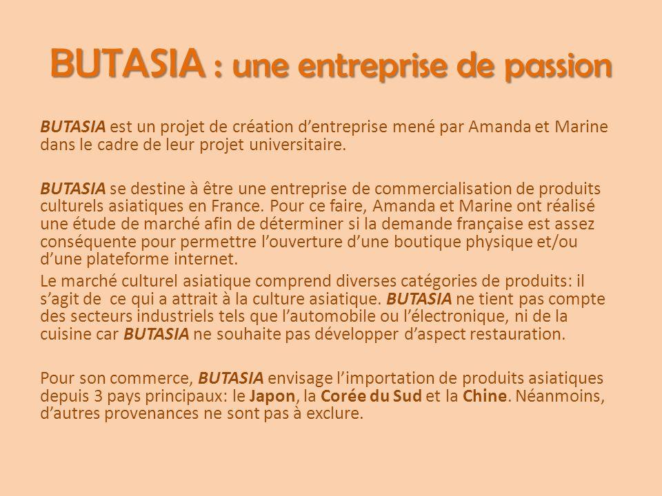 BUTASIA : une entreprise de passion