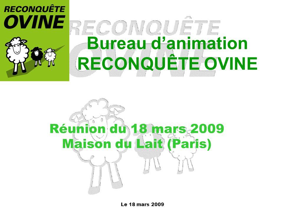 Bureau d'animation RECONQUÊTE OVINE