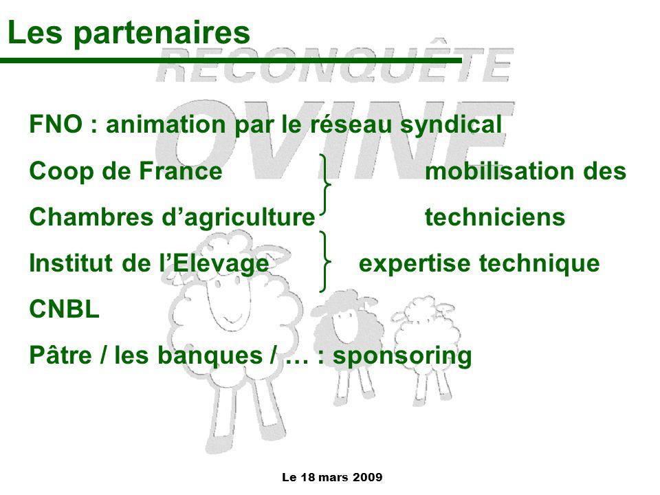 Les partenaires FNO : animation par le réseau syndical