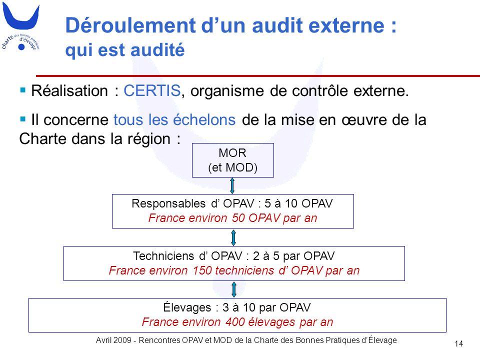Déroulement d'un audit externe : qui est audité
