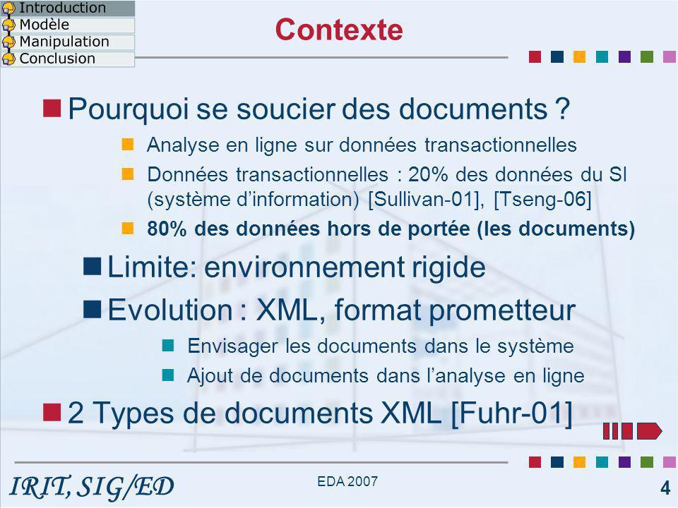Pourquoi se soucier des documents