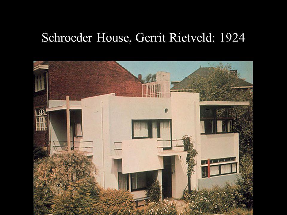 Schroeder House, Gerrit Rietveld: 1924