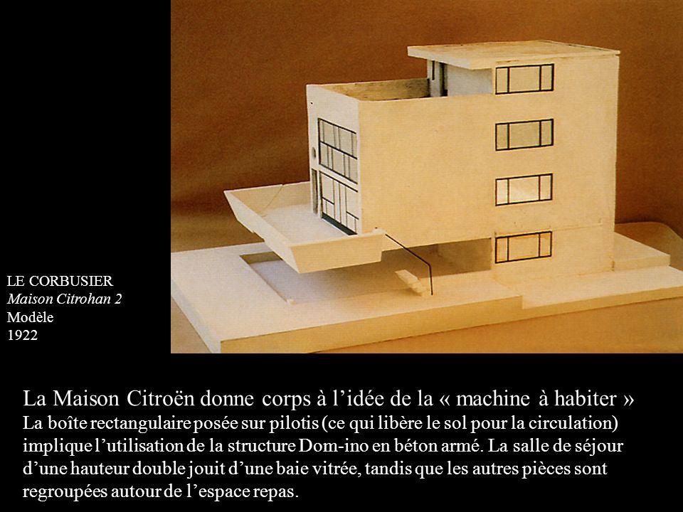 La Maison Citroën donne corps à l'idée de la « machine à habiter »
