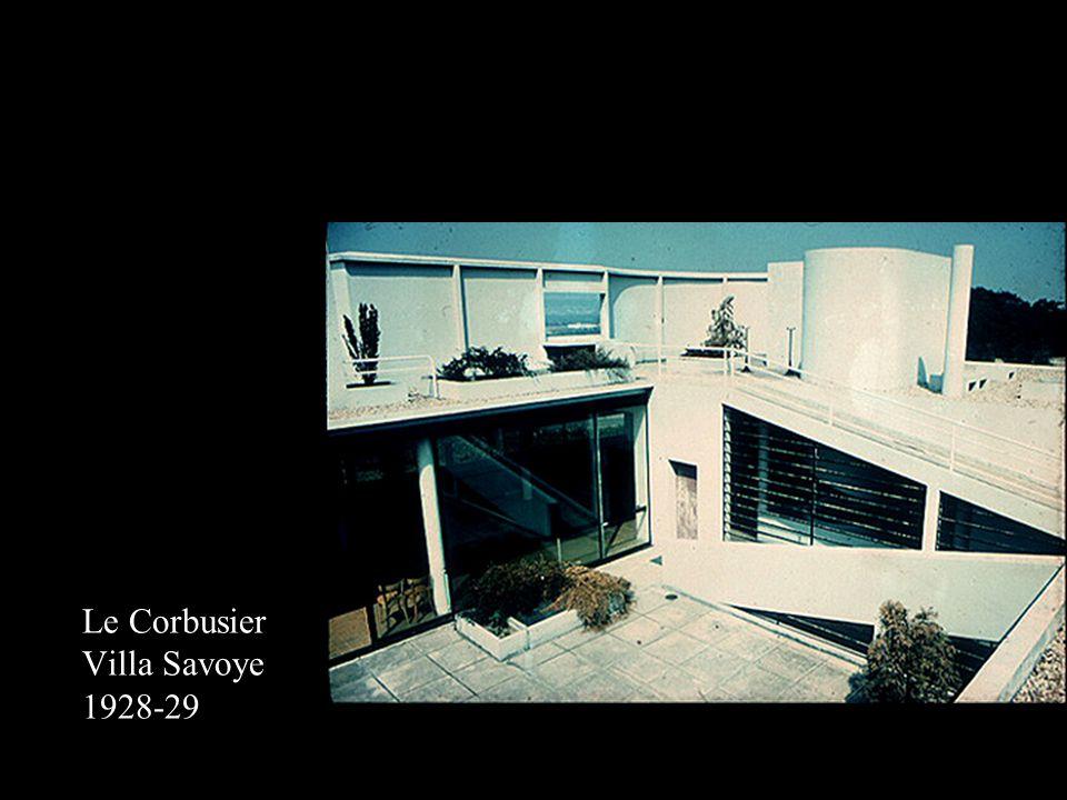 Le Corbusier Villa Savoye 1928-29
