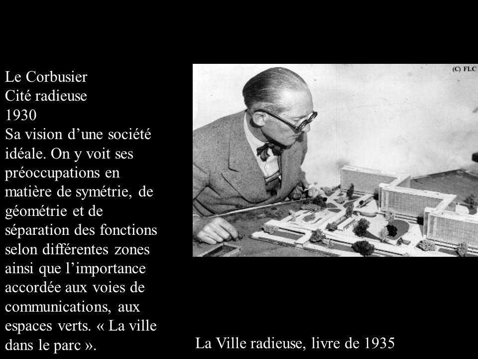 Le Corbusier Cité radieuse. 1930.