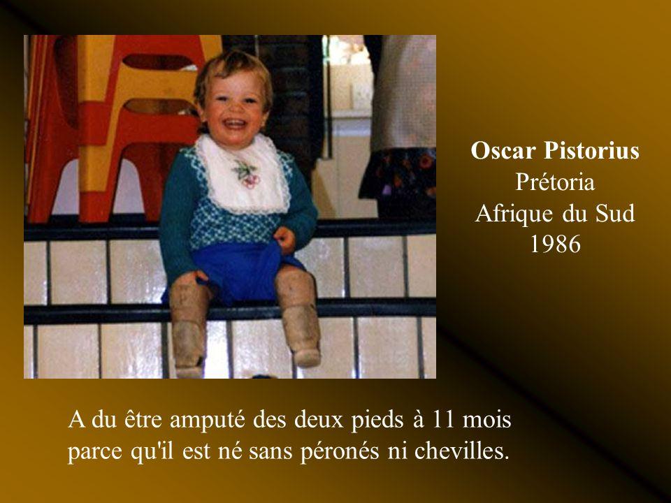 Oscar Pistorius Prétoria Afrique du Sud 1986