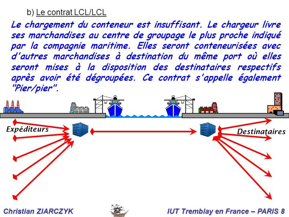 b) Le contrat LCL/LCL