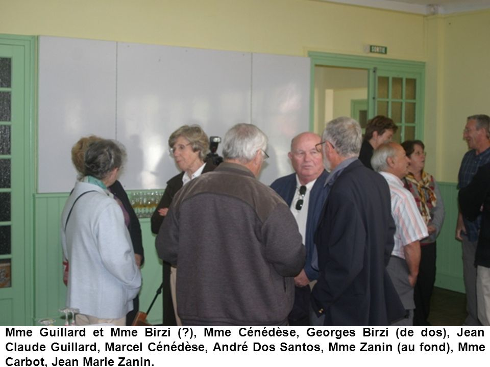 Mme Guillard et Mme Birzi (
