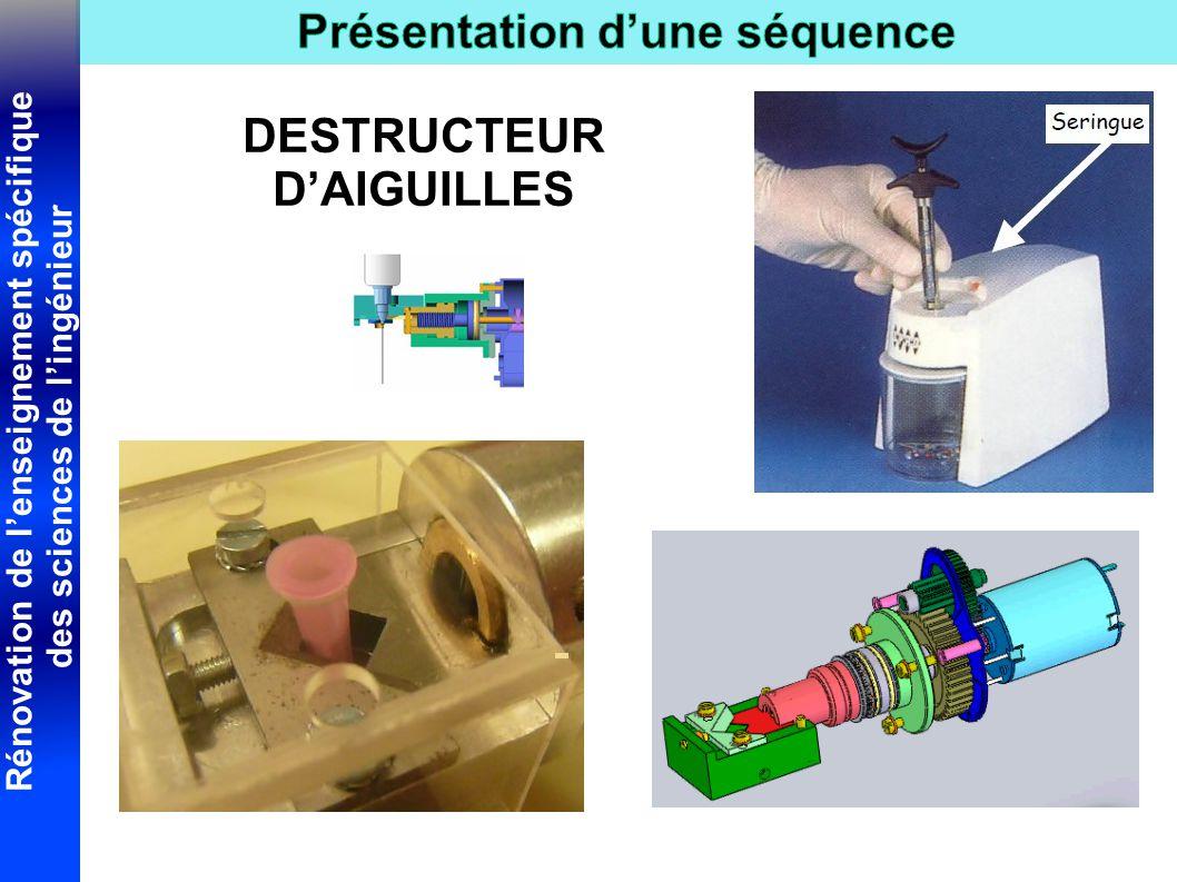 DESTRUCTEUR D'AIGUILLES