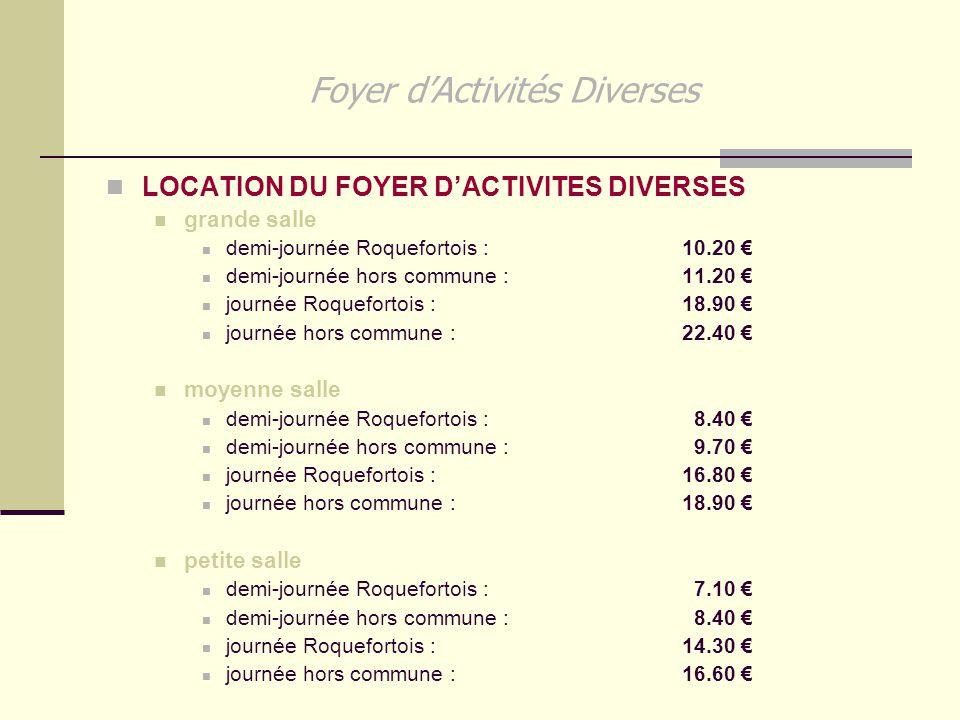 Foyer d'Activités Diverses