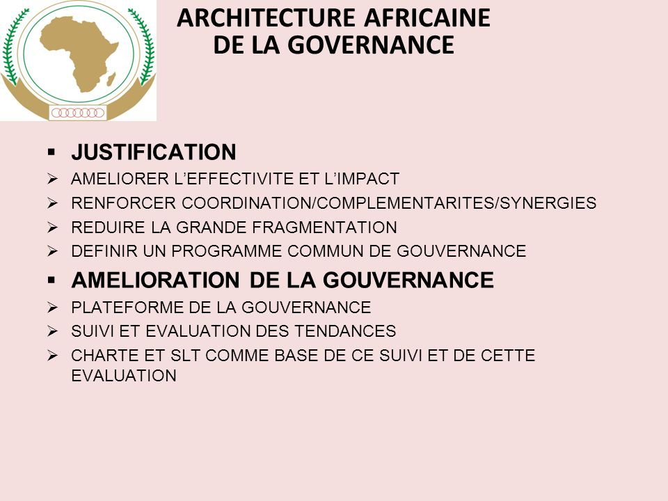 ARCHITECTURE AFRICAINE
