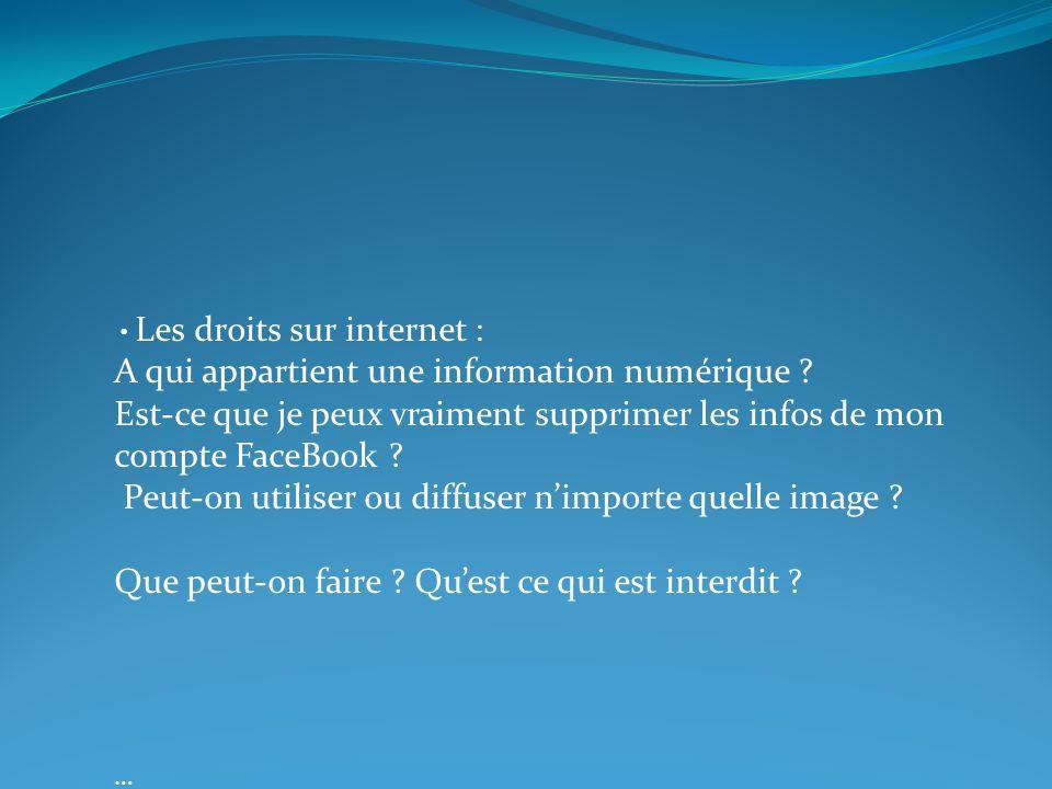A qui appartient une information numérique