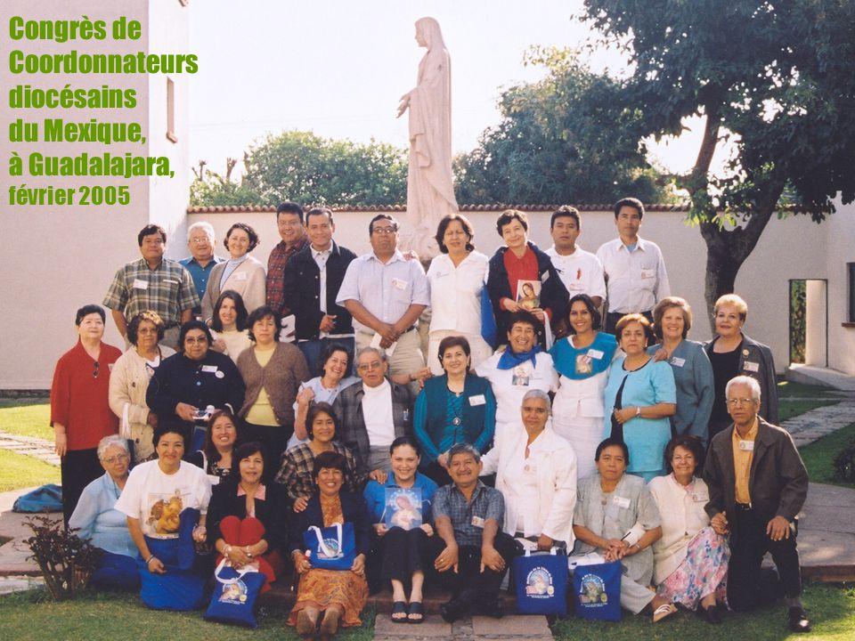 Congrès de Coordonnateurs diocésains du Mexique, à Guadalajara, février 2005