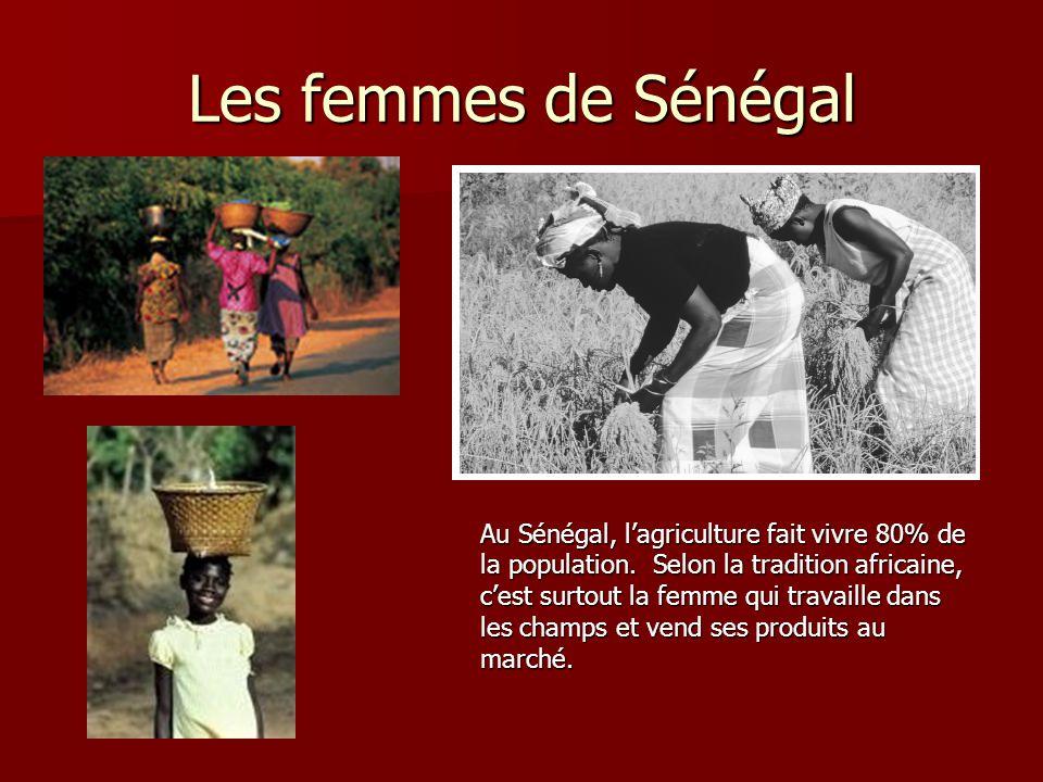 Les femmes de Sénégal