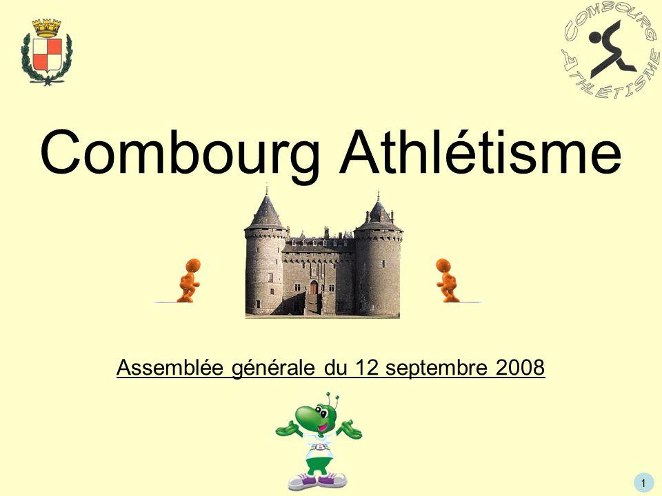 Assemblée générale du 12 septembre 2008