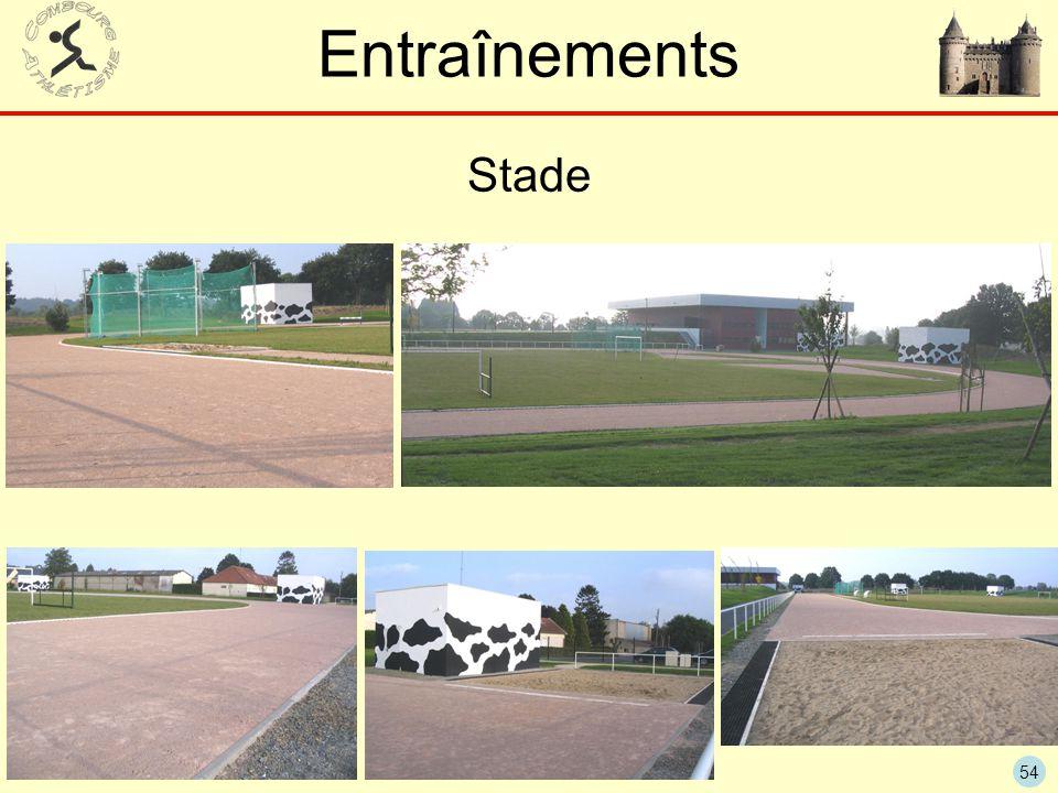 Entraînements Stade
