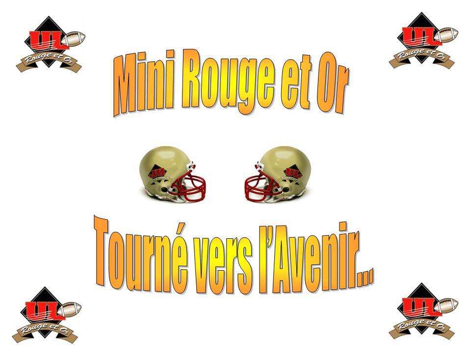 Tourné vers l'Avenir… Mini Rouge et Or