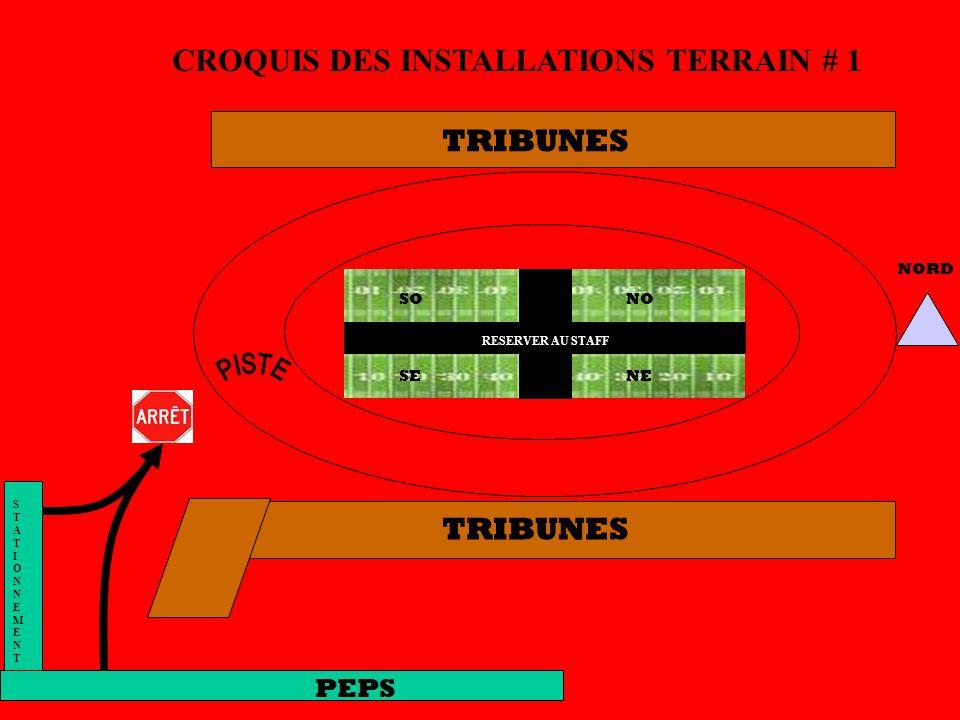 CROQUIS DES INSTALLATIONS TERRAIN # 1