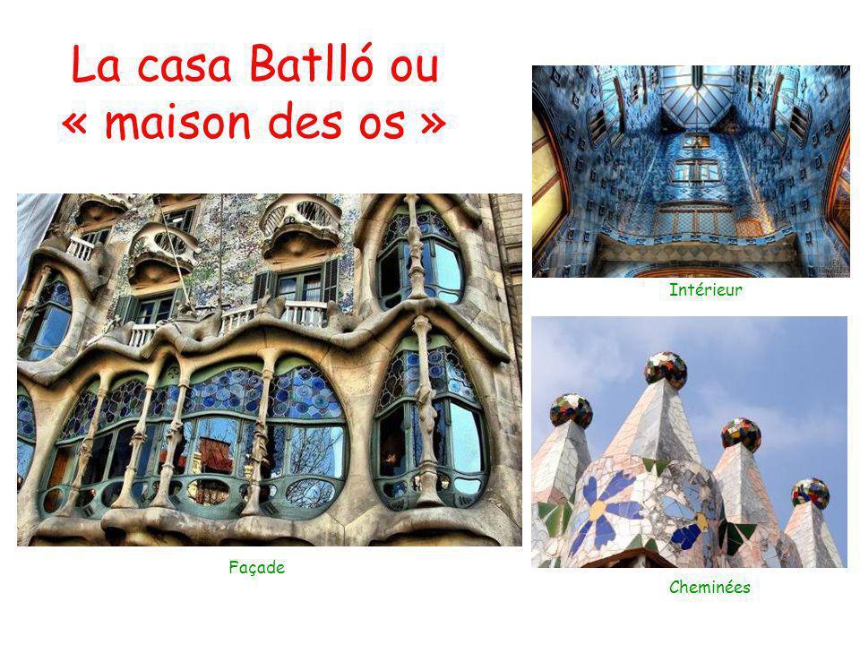 La casa Batlló ou « maison des os »