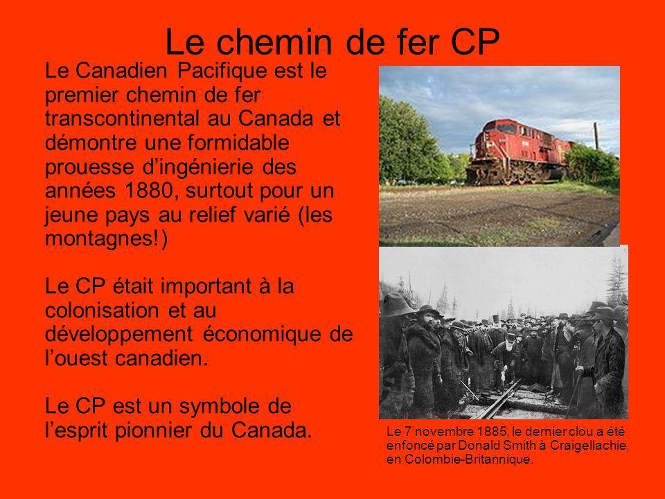 Le chemin de fer CP