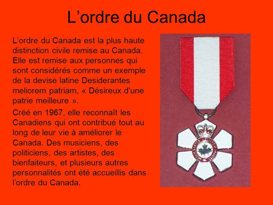 L'ordre du Canada
