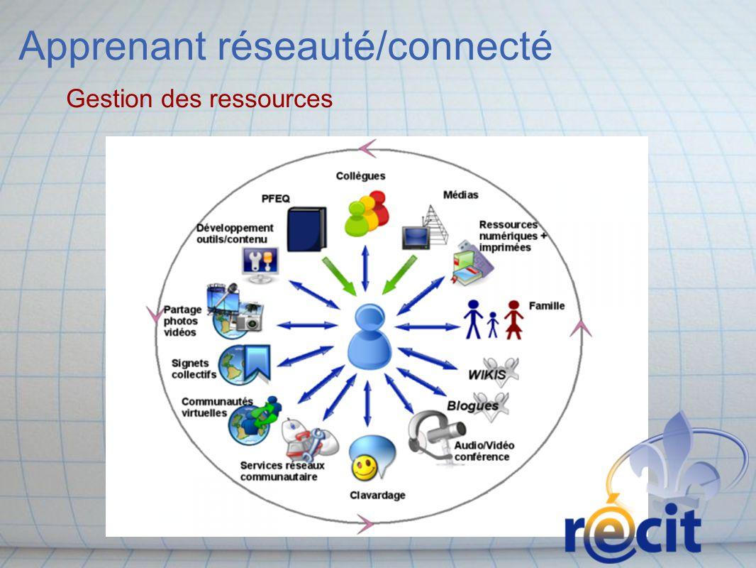 Apprenant réseauté/connecté