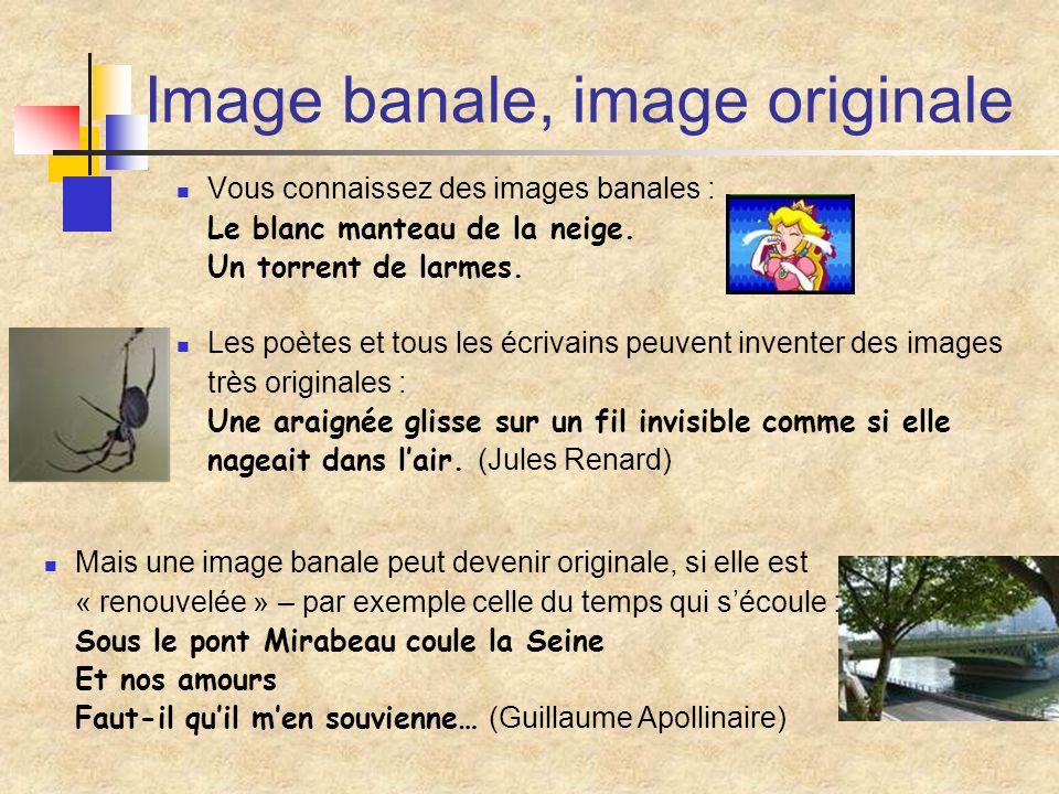 Image banale, image originale