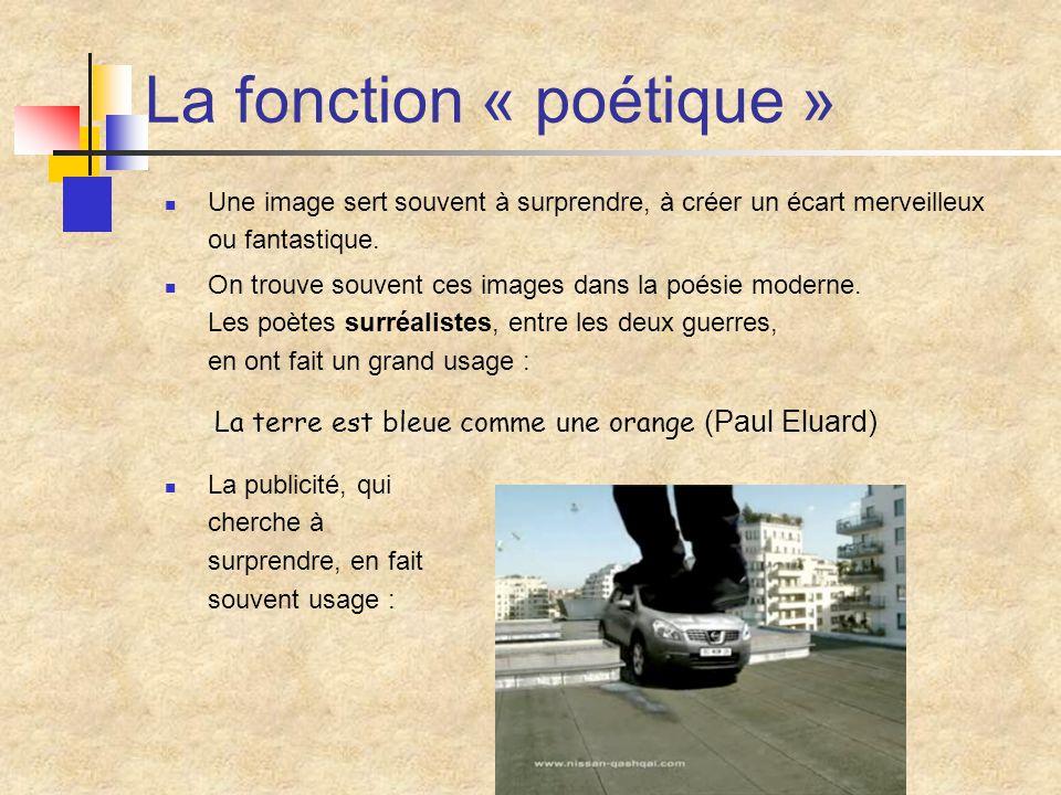 La fonction « poétique »