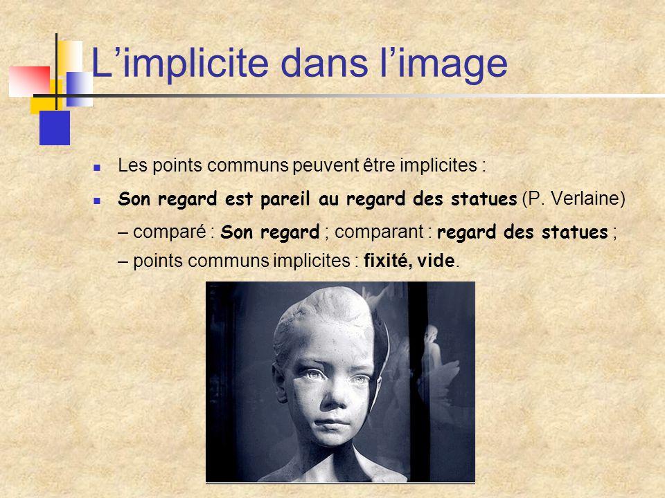 L'implicite dans l'image