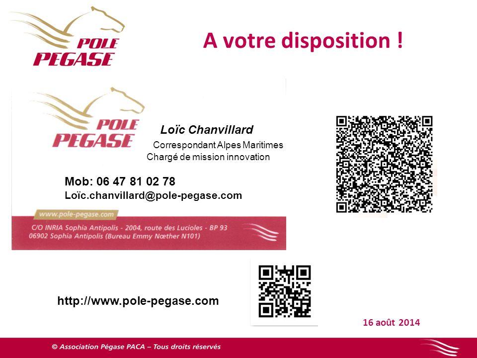 A votre disposition ! Loïc Chanvillard Correspondant Alpes Maritimes