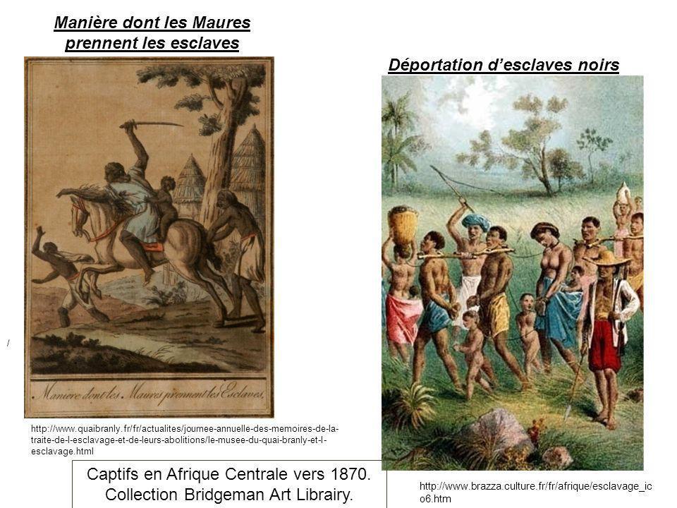 Manière dont les Maures prennent les esclaves