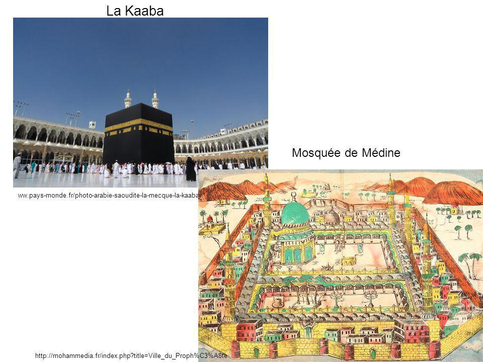 La Kaaba Mosquée de Médine